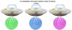 3-X-GOODBOY-UFO-LOB-IT-IMPACT-LIGHT-UP-FLASHING-BALL-DOG-PUPPY-TOY-THROWER-NIGHT