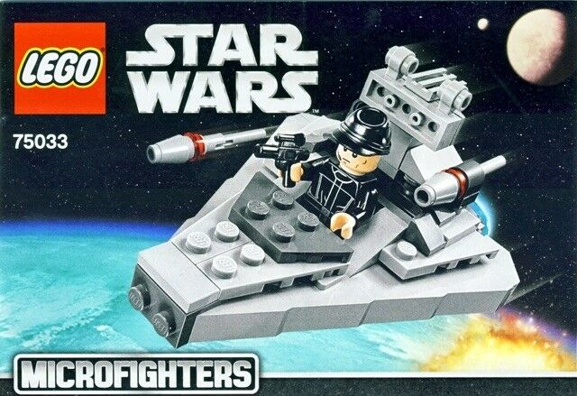 Lego Star WarsMicrofighters 75033 75033 75033 Star Destroyer with instructions a23272