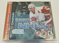 Nhl 2k (sega Dreamcast, 2000) Game Brand & Factory Sealed