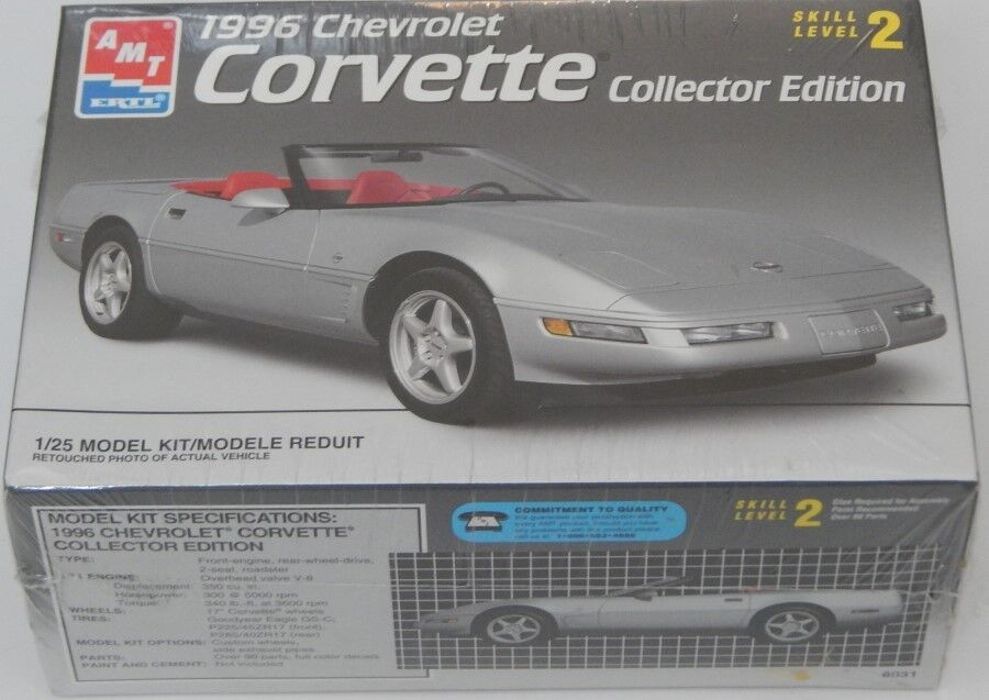 1996 CORVETTE COLLECTOR EDITION NEW FACTORY SEALED AMT ERTL R15773