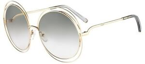 edce8bc58d Details about Chloé Chloe CARLINA CE114S light gold/transparent light grey  (734) Sunglasses