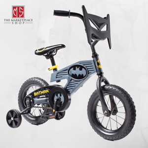 12 Batman Boys Bike Training Wheels Dc Comics Theme Design Ebay