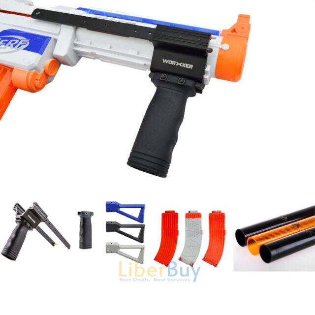 Worker Mod Shoulder Stock Replacement for Nerf Nstrike Elite RETALIATOR Toy