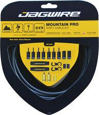 JAGWIRE MOUNTAIN PRO BLACK CARBON MTB SHIFTER SHIFT DERAILLEUR CABLE KIT..