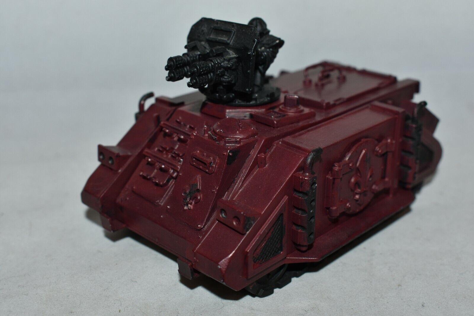 Immolator Tank  Sisters of Battle Adepta Sororitas Warhammer 40K lavoronegozio AIMP  nessun minimo