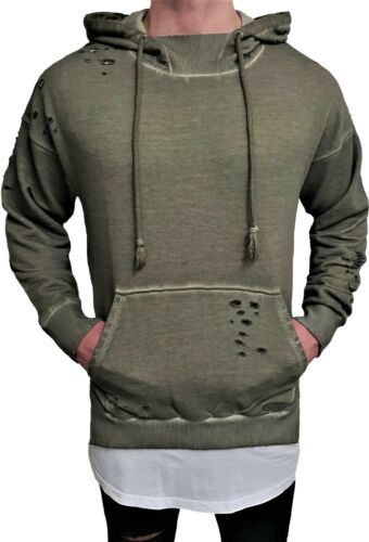 Kapuzen Pullover Hoodie Hoody Pulli Kapuzenpullover Sweat-shirt Sweater h Sweat