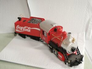LGB-COKE-COCA-COLA-TRAIN-LOCOMOTIVE-STEAM-ENGINE-20231-6-G-SCALE-HOLIDAY-SALE