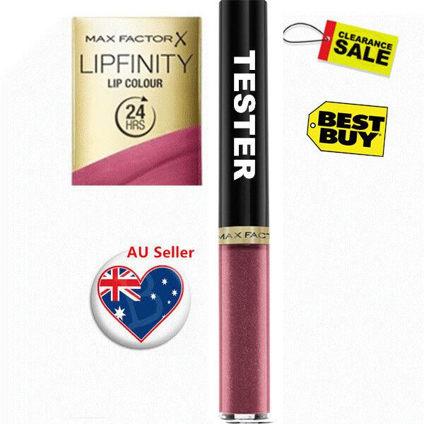 MAX FACTOR Lipfinity Lipstick FULL SIZE TESTER, 101 Flamboyant, RRP $30.95