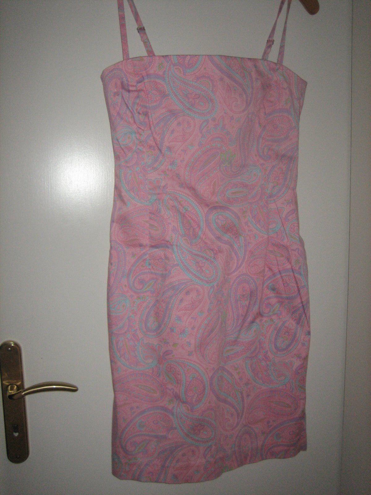 Kleid Corsagenkleid Jones New York Signature Rosa Rosa flieder türkis Gr. 36 neu