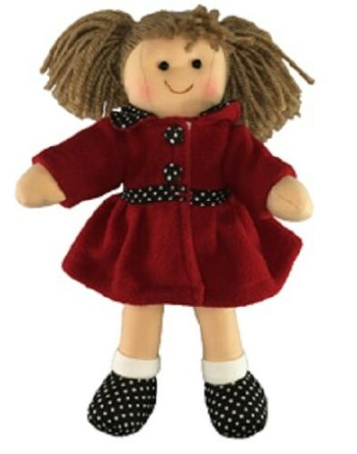 HOPSCOTCH COLLECTIBLES - 25CM RAG DOLL PIA - BRAND NEW WITH TAGS