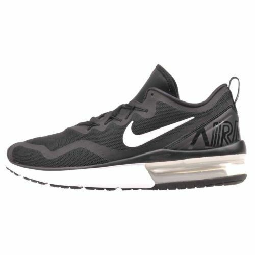 80dc846c224 NEW Nike Air Max Fury Running Mens Shoes Black White White White AA5739-001  657874