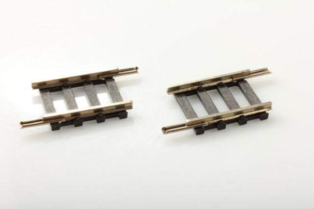 Roco H0 4416NS 2x vía Recta 29mm 2,5mm Suciedad/Arañazo o Emb.orig #49