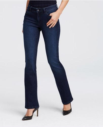 Ann Taylor – Woman's Voyage bluee Curvy Boot Cut Jeans  89.00 (43)