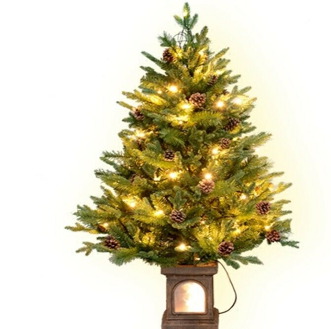 D02 Christmas Xmas Grün Height 120CM LED Celebrate Party Ornaments Christmas W