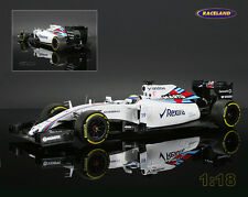 Williams-Mercedes FW37 Martini Racing F1 2015 Felipe Massa, Minichamps 1:18, NEW