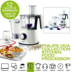 Details about Philips Viva Collection Food Processor Bowl Blender Jar 750W 1.5L HR776101