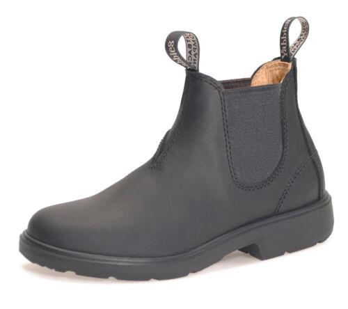 Boomerang Yabbies Chelsea Boots Bottines Chaussures Pour Enfants-Black Noir
