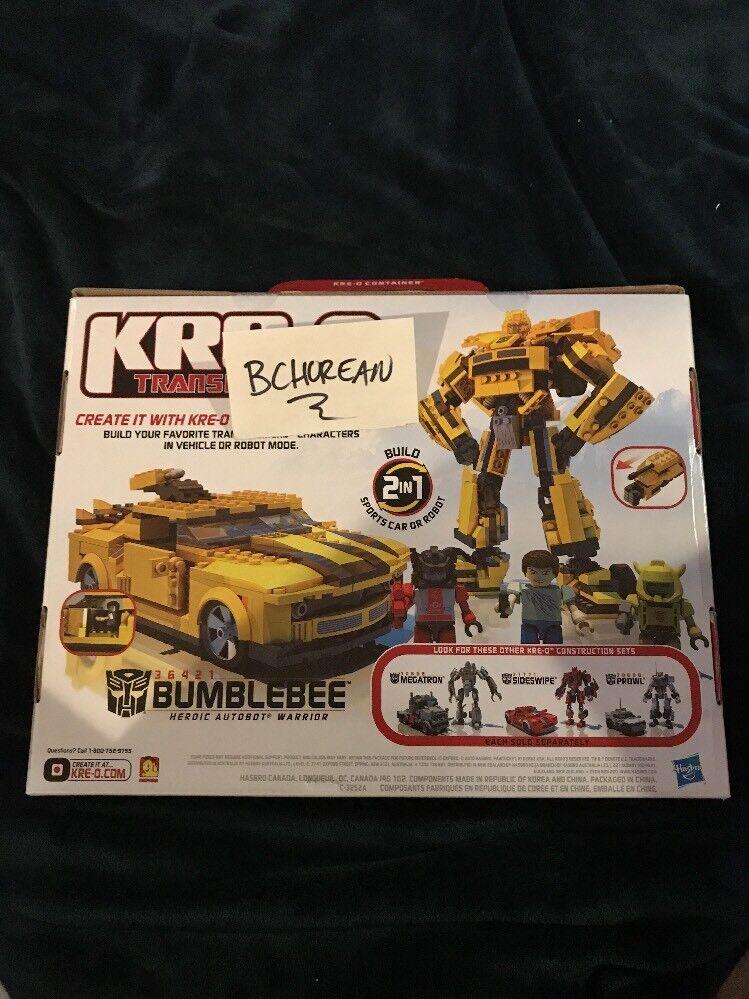 Transformers Kreo Kreo Kreo Kre-o Bumblebee 36421 Building Set 3 Kreons With Red Alert New e70c2b