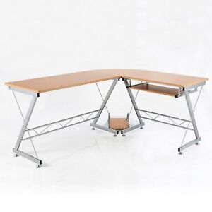 67-034-L-shaped-Corner-Computer-Desk-Table-Home-Office-Study-Workstation-CPU-Stand