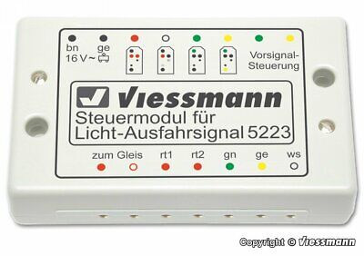 Viessmann 5223 Steuermodul für Licht-Ausfahrsignale Fabrikneu