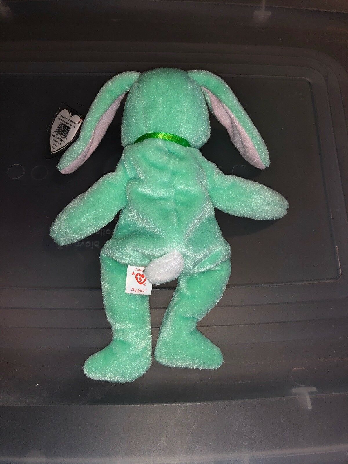 303d2fdec5b ... TY BEANIE BABY HIPPITY 1996 Rare Retired With Errors Tag Errors With  298137 ...