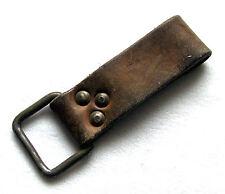 Tschechische Koppelschlaufe 2 Stück Leder Koppeltragegestell Heer Koppelschloss
