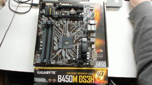 Gigabyte B450m Ds3h Am4 Amd B450 Sata 6gb S Micro Atx Amd Motherboard Pc830483 Ebay