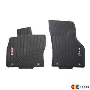 NEU-Original-Audi-a3-rs3-13-17-vorne-schwarz-Gummimatten-LHD-8v6061221041
