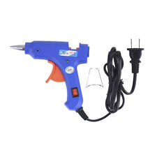 Professional Electric Heating Hot Melt Glue Gun Craft Repair Tool DIY US Plug