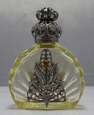 Czech Glass Handmade Oil Perfume Holy Water Bottle 459416 wholesale