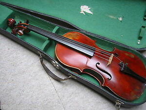 Interessante-alte-Geige-034-Giuseppe-Fiorinii-Muenchen-1883-034-mit-Siegel-old-violin