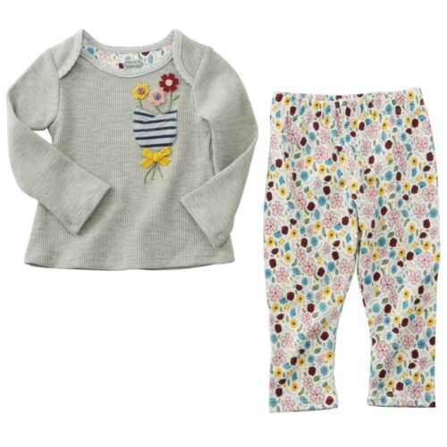 Mud Pie H7 Baby Girl Floral Pocket Tunic /& Leggings Set 1112367 Choose Size