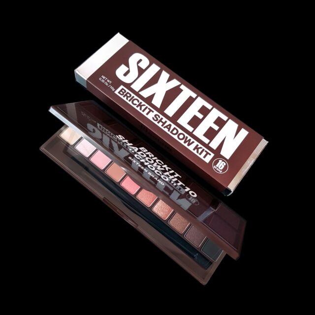 "Sixteen Brand 16 Brickit Shadow Hit 10 "" Choco "" Basic Eye Makeup Palette"