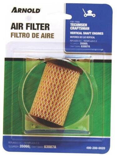 NEW ARNOLD 490-200-0021 TECUMSEH SEARS ENGINE AIR FILTER 35066 3707197