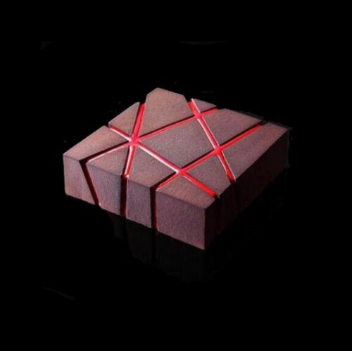 1PCS-Silicone-3D-Geometric-Square-Mold-Cake-Decorating-Baking-Tools-Chocolate