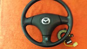 Mazda-MX5-Cabrio-Airbag-Lederlenkrad-mit-Schleifring-Baujahr-2002