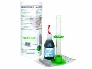 Acidometer komplett Set Blaulauge Säurebestimmung Wein selber machen