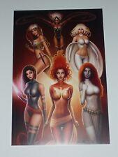 "HARLEY QUINN /""Harley Girl/"" 8x10 Signed Art Print by Nathan Szerdy //2000 BAM BOX"
