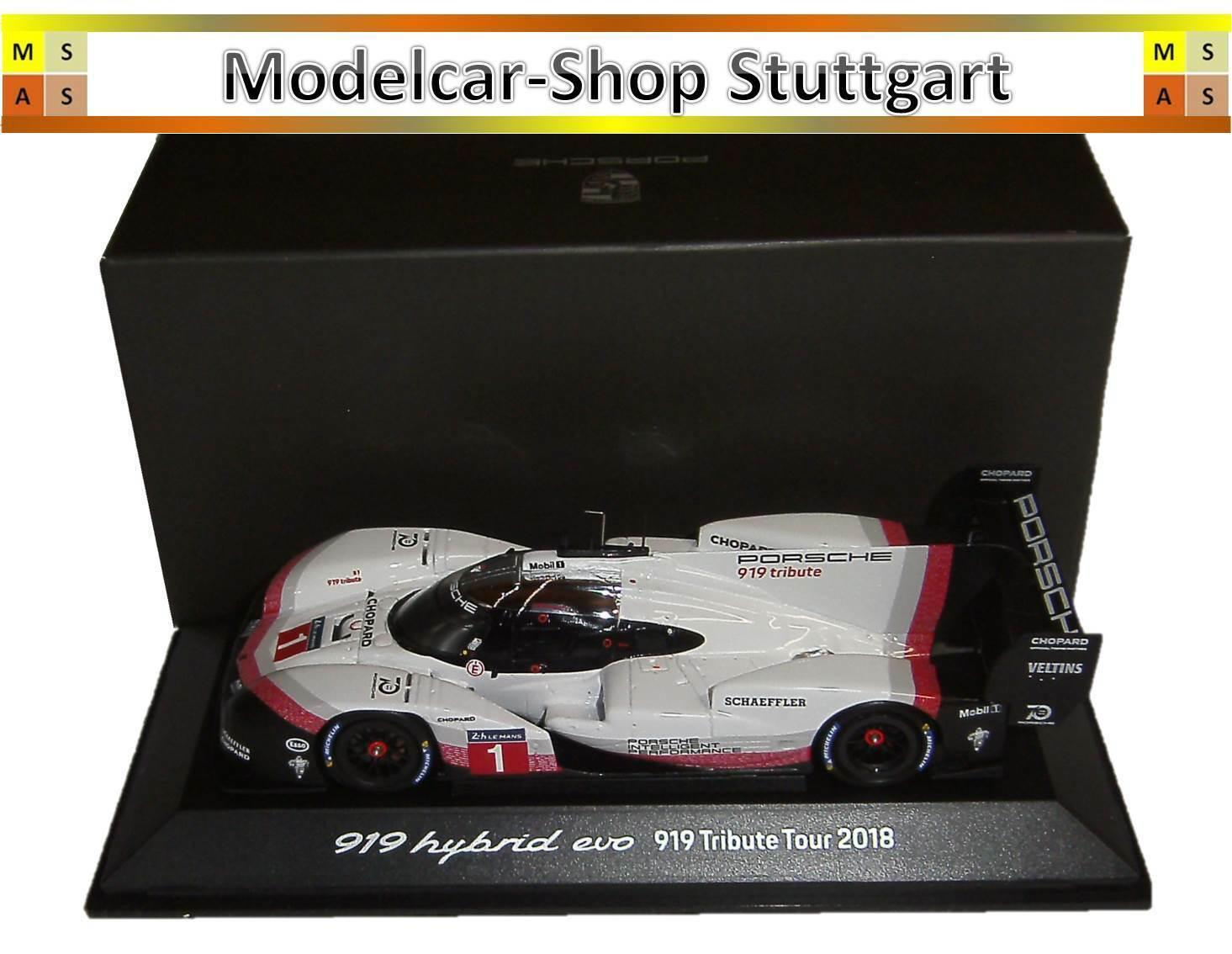 Porsche 919 Hybrid EVO Tribute Tour 2018-Spark 1 43 - wap0209260k-Neuf