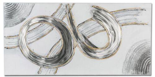 formano Wandbild aus Holz und Aluminium DESIGN 100x50 cm