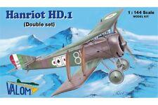 VALOM 14411 1/144 Hanriot HD.1 (2in1)