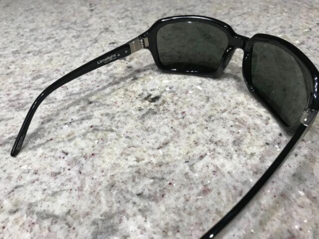 New OTIS LIMELIGHT Sunglasses Black Frames// Polarized Mineral Glass Lenses