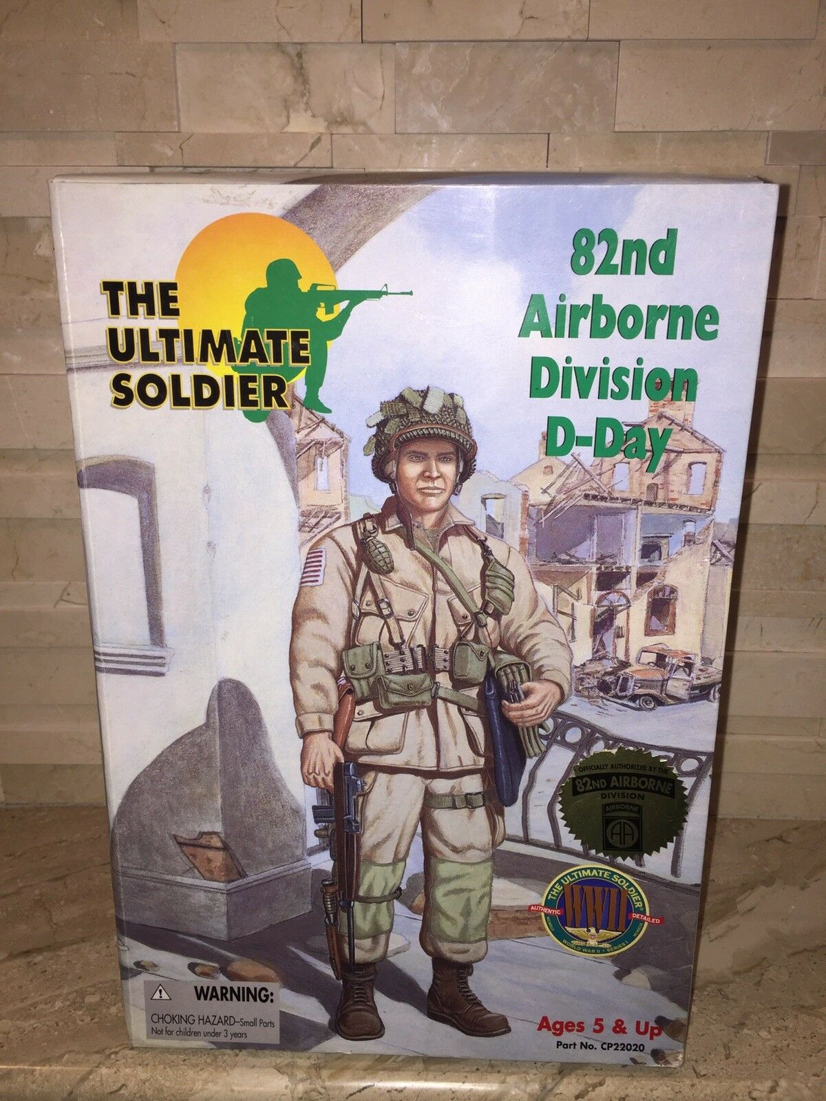 THE ULTIMATE SOLDIER 82ND AIRBORNE DIVISION D-DAY ACTION FIGURE