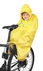 Fahrrad Regenumhang 4-farbig Kinderponcho Regenschutz Prophete Größe S  99196