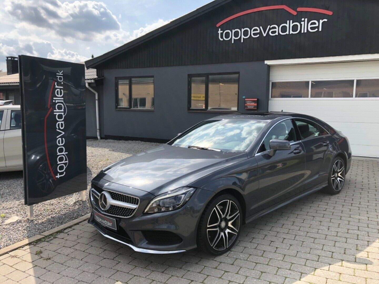Mercedes CLS500 4,7 aut. 4-M BE 4d - 1.995 kr.