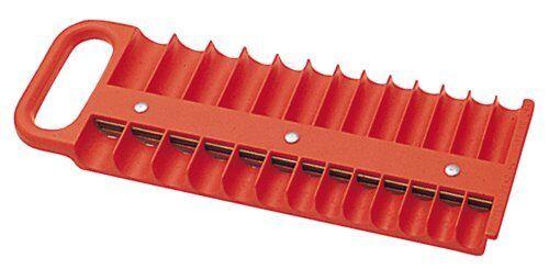 "Lisle 40120 1//4/"" Drive Red Magnetic Socket Holder For 26 Sockets"