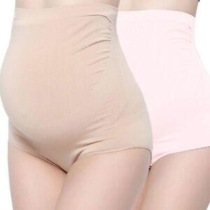 New 3 Pair Surewin Women L Xl Seamless Over Bump Maternity Underwear High Waist Ebay