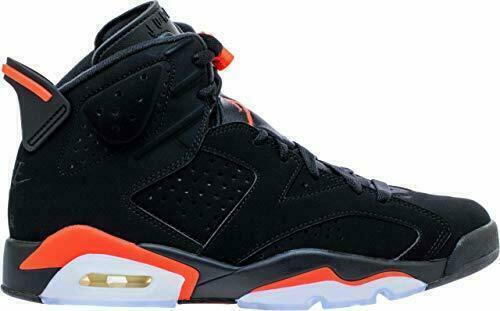 Nike Air Jordan 6 Retro Basketball Shoes for Men, Size US 11 - Black/Infrared for sale online | eBay