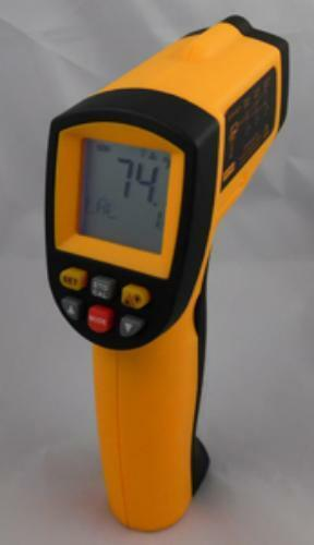 Inc 2803 Deluxe Non-contact Laser Thermometer Fjc