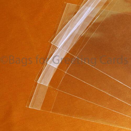 Supérieur Qualité 40 µ de taille standard Violoncelle Sacs-pour cartes de vœux